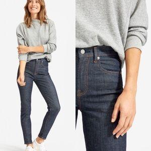 Everlane High-Rise Indigo Skinny Jeans Size 27 NWT